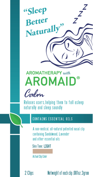 Aromatherapy with AROMAID Calm - Fall Asleep Naturally and Sleep Soundly - Day Break Massage Charlotte