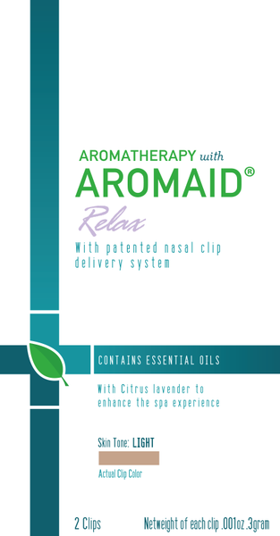 Aromatherapy with AROMAID Relax - Enhance the SPA Experience - Day Break Massage Charlotte